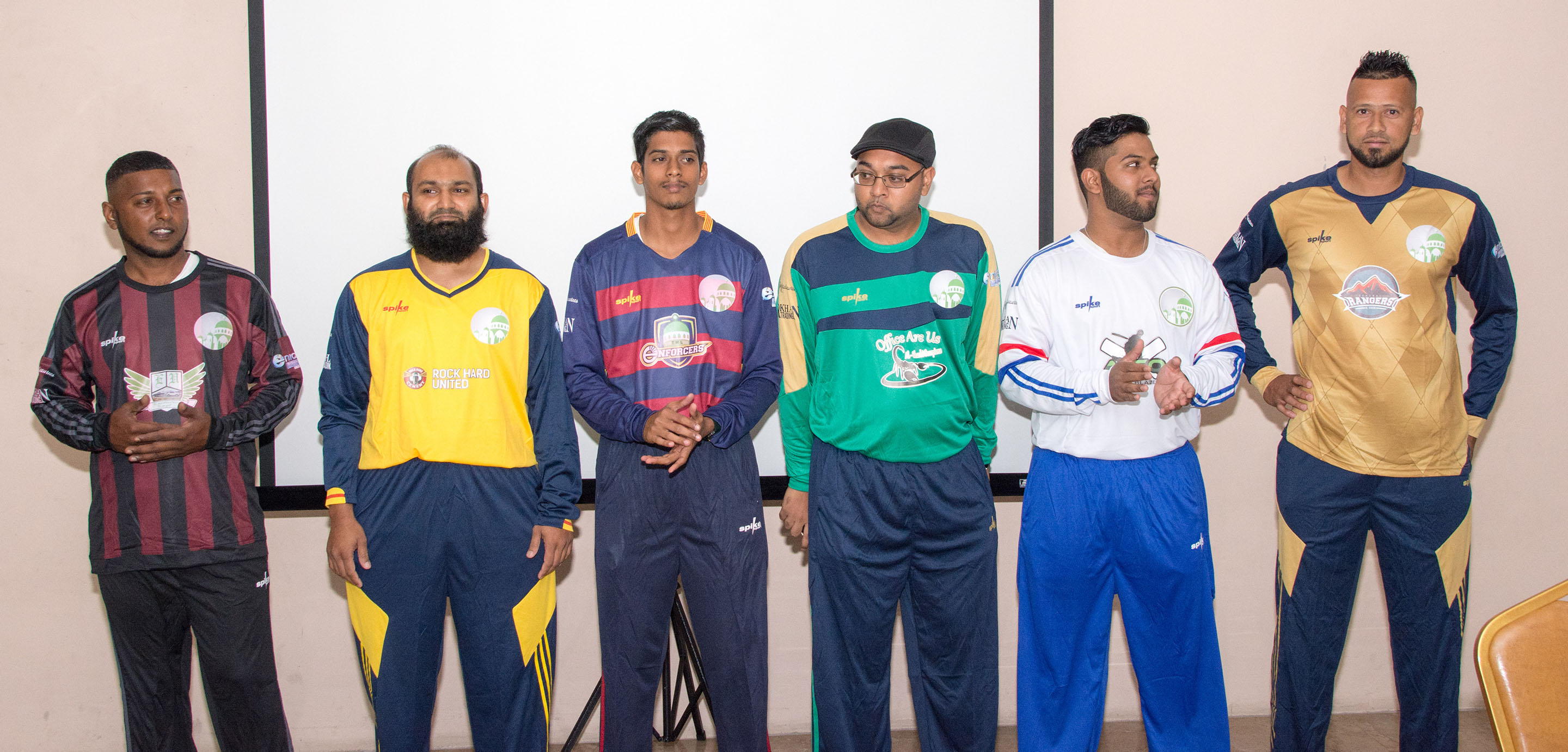 "TML/Takaaful Premier League, ""The Unveiling Ceremony"" on Sunday 22nd January, 2017 at the TML Educational Centre, EMR., St. Joseph. Images courtesy Asif Khan."